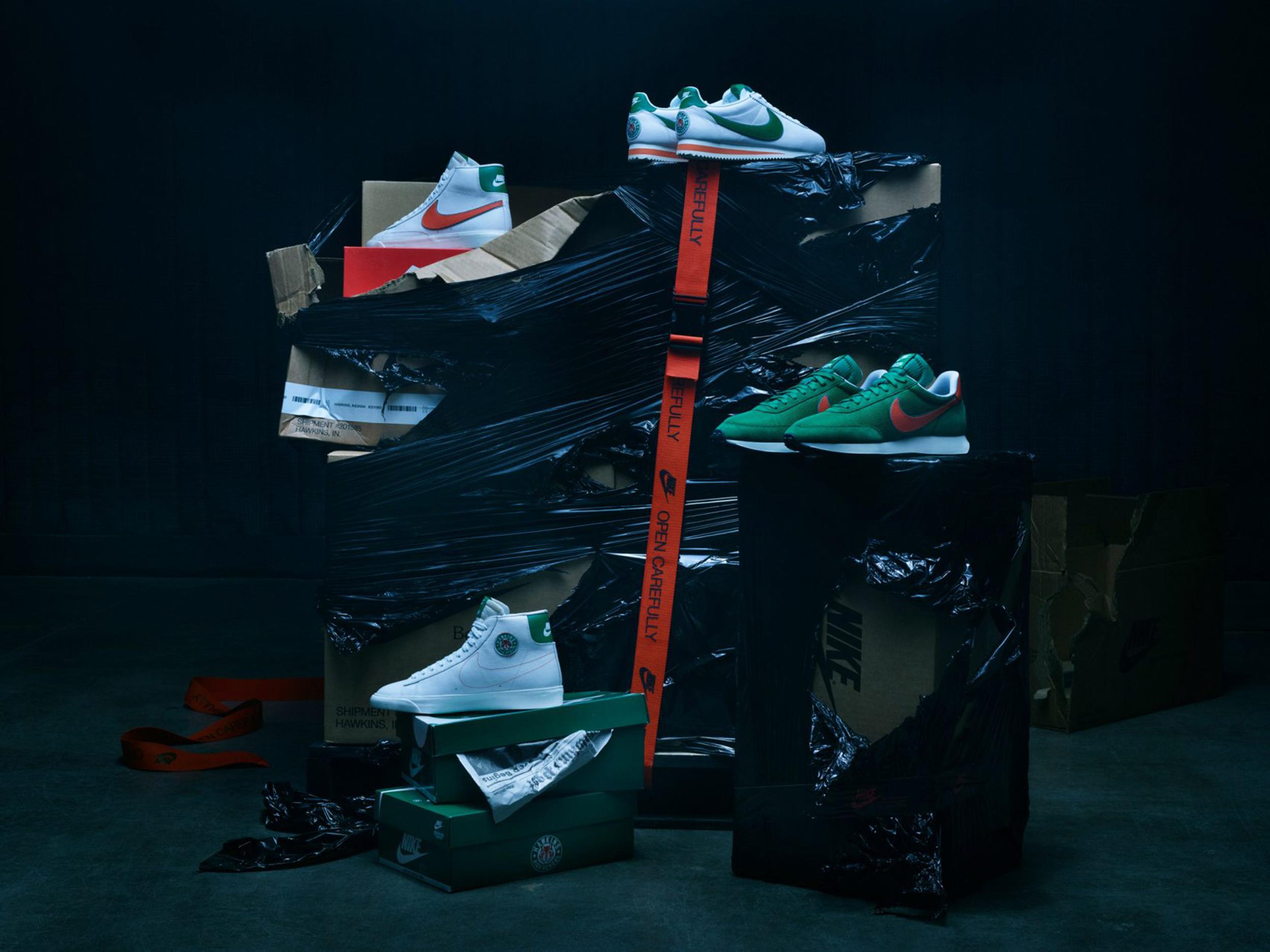Stranger Things: Nike presenta la collezione di scarpe (e